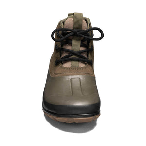 BOGS Casual Lace Leather Olive