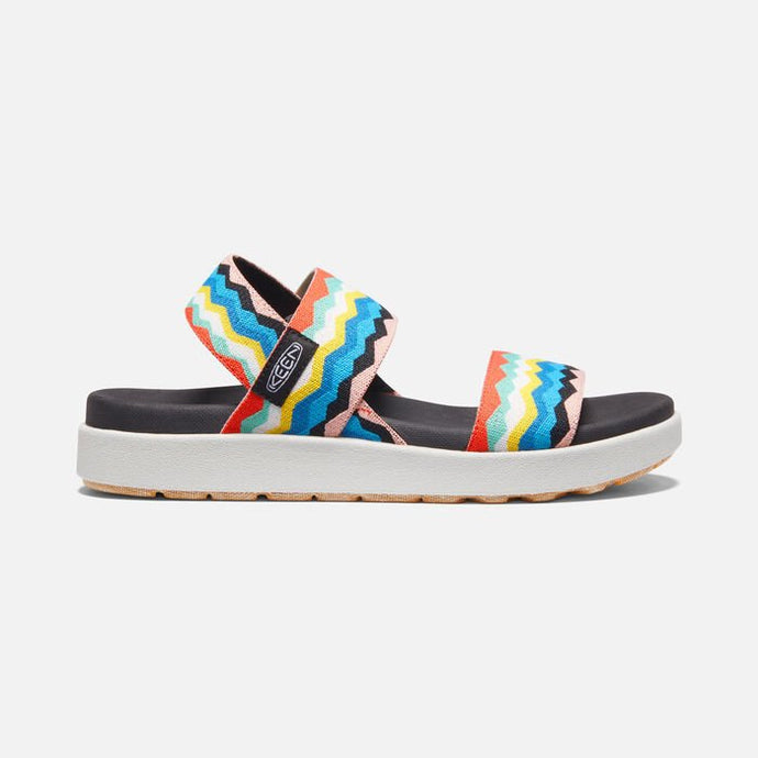 KEEN Elle Backstrap Black/Peach Pearl