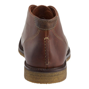 Johnston & Murphy Copeland Chukka Red Brown
