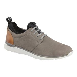 Johnston & Murphy Waterproof Prentiss Plain Toe Gray Nubuck