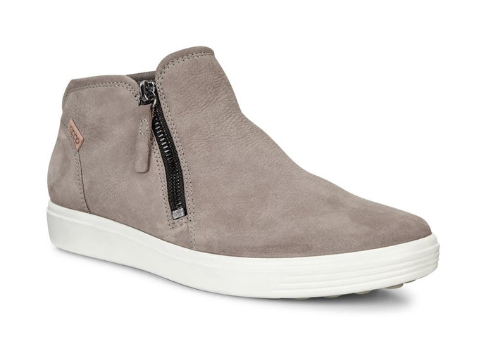 ECCO SOFT 7 LOW BOOTIE WARM GREY