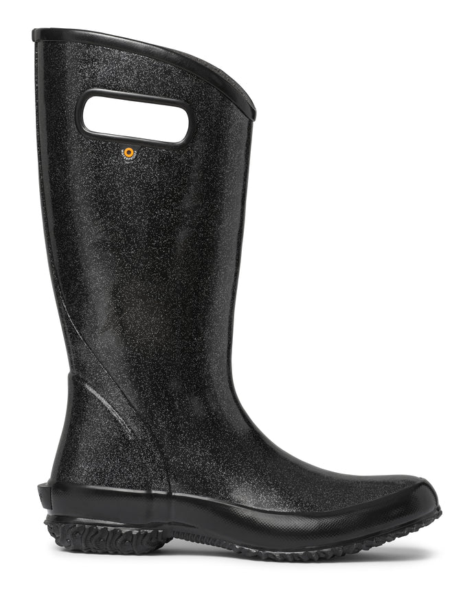 BOGS Black Glitter Rainboot