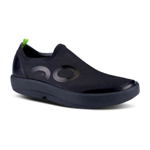 OOFOS Men's OOMG EeZee Canvas Black
