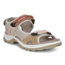 Load image into Gallery viewer, ECCO WOMEN'S YUCATAN SANDAL MULTICOLOR CASHMERE