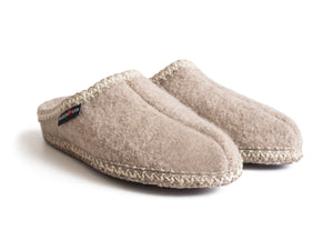 Haflinger Women's Soft Sole Slipper Beige