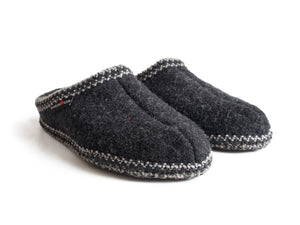 Haflinger Women's Soft Sole Slipper Charcoal