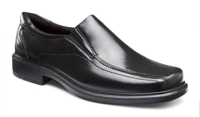 ECCO HELSINKI SLIP-ON BLACK