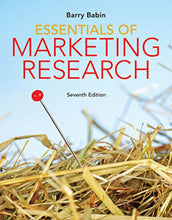 Load image into Gallery viewer, Essentials of Marketing Research Loose Leaf+Mindtap 6m 7th edition by Babin 9780357015636 *DND