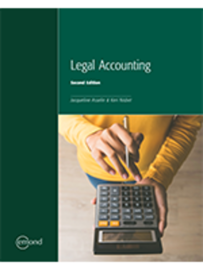 Legal Accounting 2nd edition by Jacqueline Asselin 9781772554045 *95d