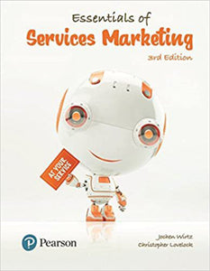 Essentials of Services Marketing 3rd edition by Wirtz 9781292089959 (USED:GOOD)