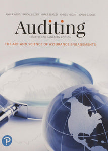 Auditing The Art and Science Canadian 14th Canadian edition with MyAccLab by Arens PKG 9780134894805 *71e