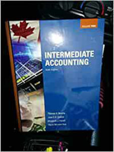 Intermediate Accounting 6th edition Volume 2 by Thomas H. Beechy 9780071338820 (Used:Good) *AVAILABLE FOR NEXT DAY PICK UP* *Box219