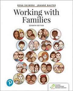 Working with Families 7th edition by Rena Shimoni 9780134513218 *106f