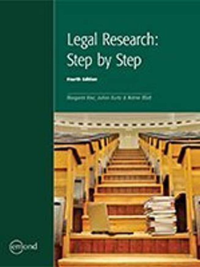 *Non Revised* Legal Research 4th Edition by Arlene Blatt Margaret Kerr JoAnn Kurtz 9781552396483 (USED:GOOD:some wear)