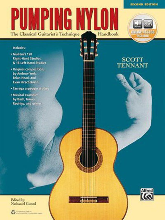 Pumping Nylon: A Classical Guitarist's Technique Handbook 2nd Edition by Scott Tennant 9781470631383 (USED:GOOD) *AVAILABLE FOR NEXT DAY PICK UP* *Box168