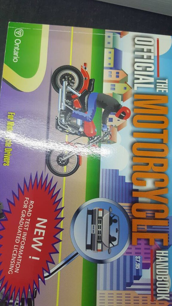 The Official Motorcycle Handbook 9780777861431 (USED:GOOD) *D14