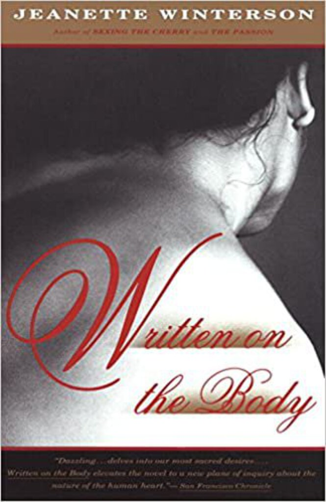Written on the body by Jeanette Winterson 9780394280141 (USED:GOOD) *D13