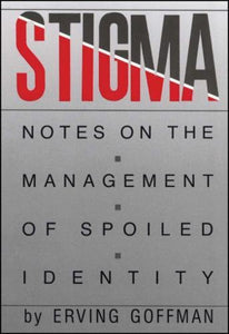 Stigma Erving Goffman 9780671622442 (USED:GOOD:highlights)