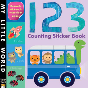 123 Counting Sticker Book 9781589254442 *fs