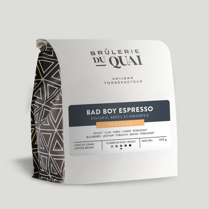 Café espresso | bad boy en grain