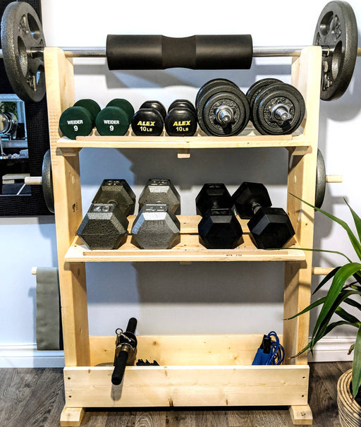 Rack dumbbell