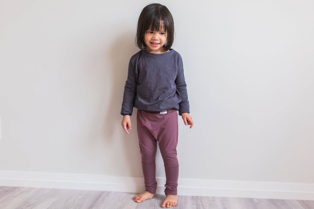 Grow with me pants | black *lyocell
