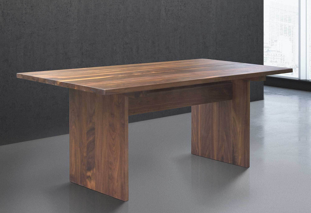 Table en bois massif contemporaine