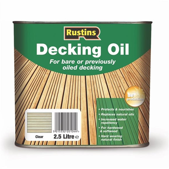 2.5 Lt Decking Oil Cleaner - Cedar - Galdes & Mamo
