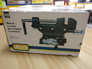 100mm Cross Vice for Pillar Drills. SPECIAL OFFER - Galdes & Mamo