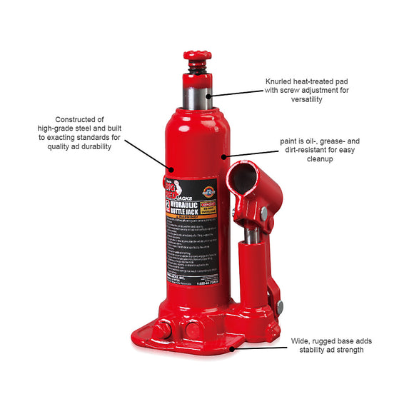 2 TON BOTTLE JACK in BMC LIFT 112mm - Galdes & Mamo