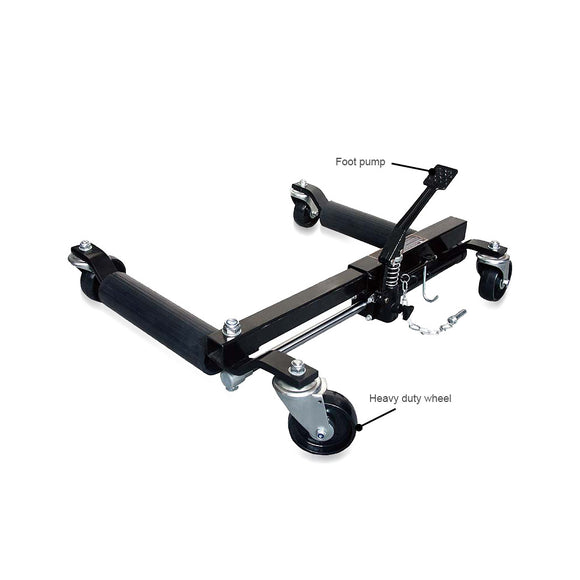 HYDR CAR  POSITIONING DOLLY 1500 LBS - Galdes & Mamo