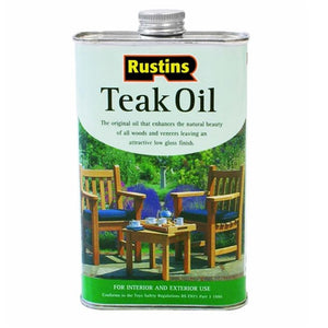 Teak Oil 500ml - Galdes & Mamo