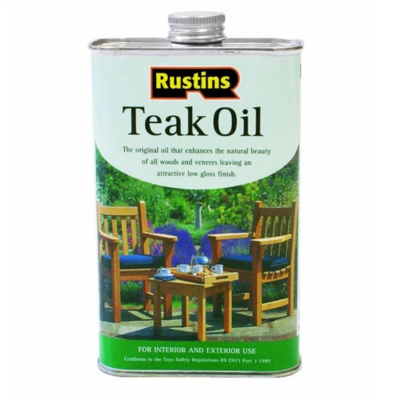 Teak Oil 1000ml - Galdes & Mamo