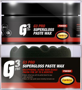 200 GRM G3 PRO GLOSS PASTE WAX Includes Waffle Applicator Pad - Galdes & Mamo