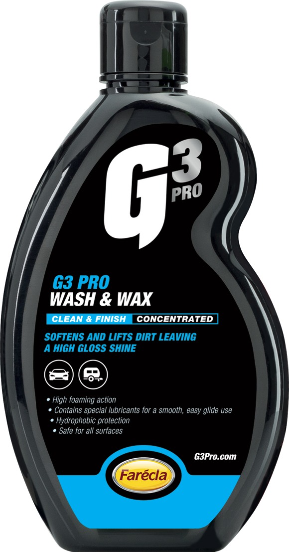 500 ML G3 PRO WASH & WAX - Galdes & Mamo