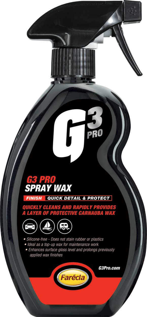 500 ML G3 PRO SPRAY WAX - Galdes & Mamo