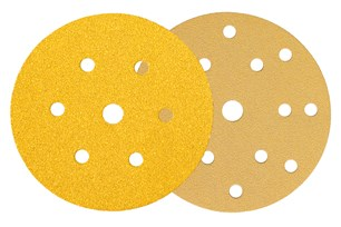 100 PCS GOLD 150MM G120  15 HOLE - Galdes & Mamo