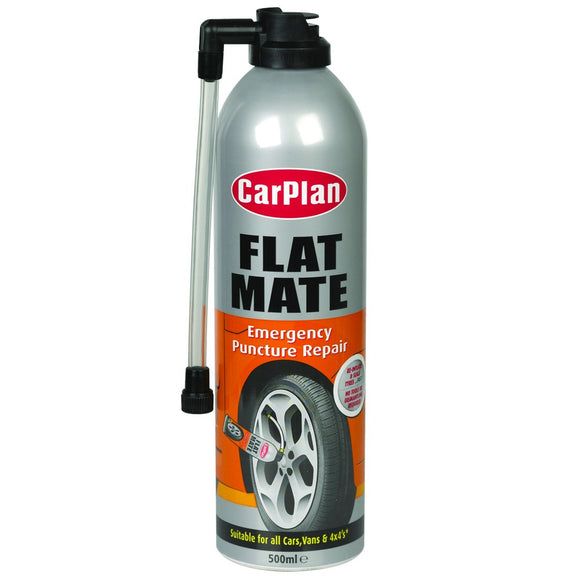 FLAT MATE TYRE REPAIR 500 ML - Galdes & Mamo