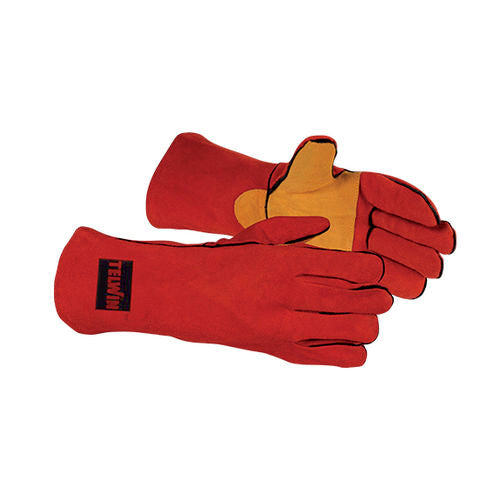 MONTANA PLUS PRO REINFORCED GLOVES WELDING GLOVES SIZE L - Galdes & Mamo