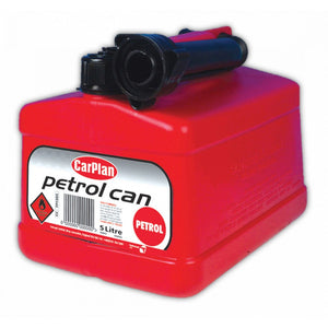PETROL JERRY CAN  RED 5LT - Galdes & Mamo