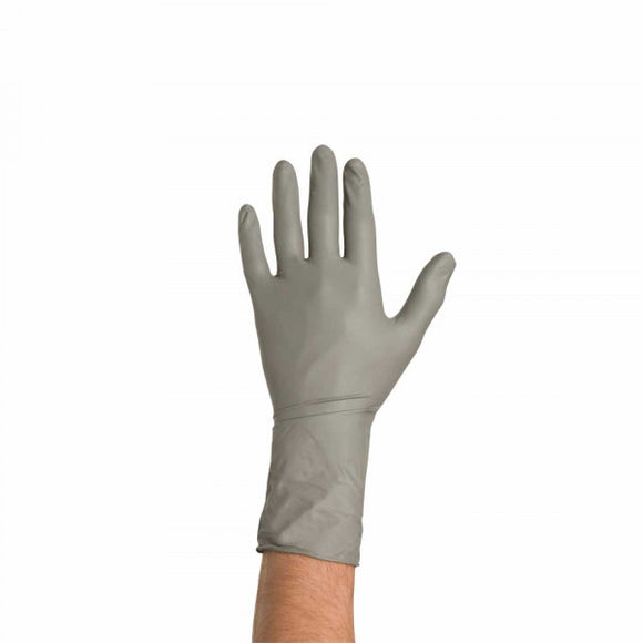 Nitrile Gloves Grey x 50 pcs XL - Galdes & Mamo