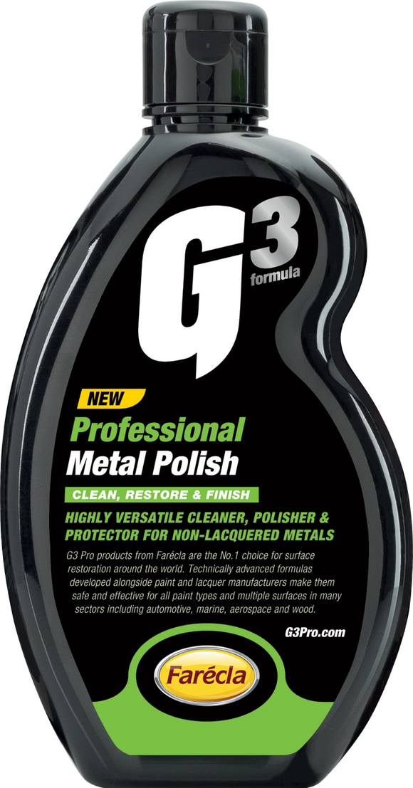 500 ML G3 PRO METAL POLISH - Galdes & Mamo