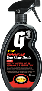 500 ML G3 PRO TYRE SHINE LIQUID - Galdes & Mamo