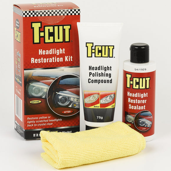 T-CUT HEADLIGHT RESTORATION KIT - Galdes & Mamo