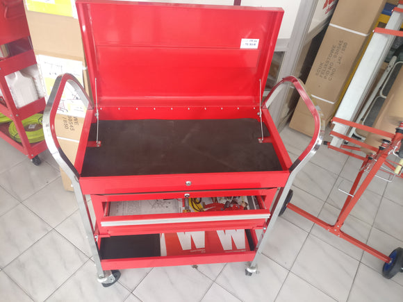 3 LEVEL Tool Cart with Movabale Chest - Galdes & Mamo