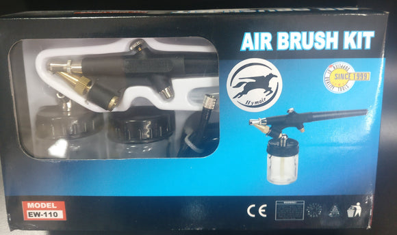 Air Brusk Kit, in plastic case - Galdes & Mamo