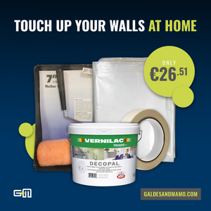 Touch up your walls at home - Galdes & Mamo