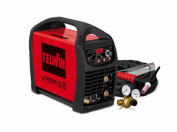 TECH TIG 230 DC HF LIFT W TIG KIT (802489) 5-220A 1PH - Galdes & Mamo