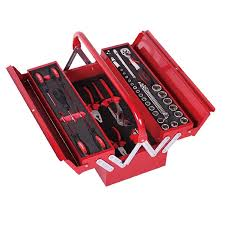 48 PC Mechanical Tool Set in Metal Tool Box - Galdes & Mamo