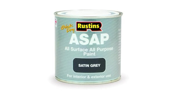 Quick dry ASAP Paint 250ml - Satin Grey - Galdes & Mamo